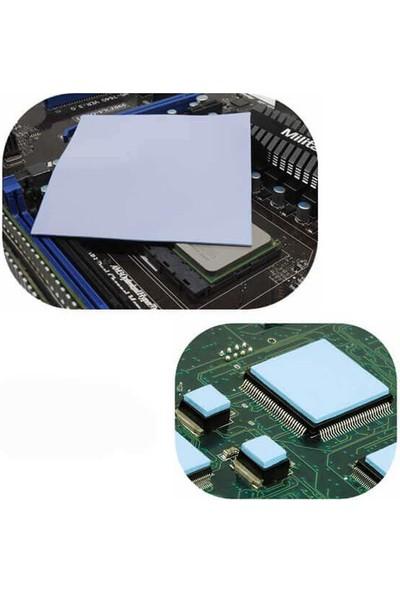 Wozlo 1mm Chipset Soğutucu Termal Pad Ped Çift Tarafı Yapışkanlı 1.0MM*100*100MM