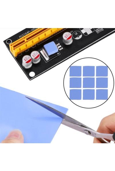 Wozlo 0.5MM*100*100MM Chipset Soğutucu Termal Pad Ped 10*10MM Kesilmiş