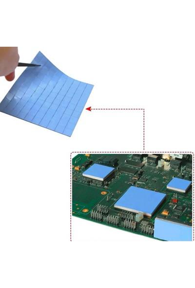 Wozlo 1.0MM*100*100MM Chipset Soğutucu Termal Pad Ped 10*10MM Kesilmiş