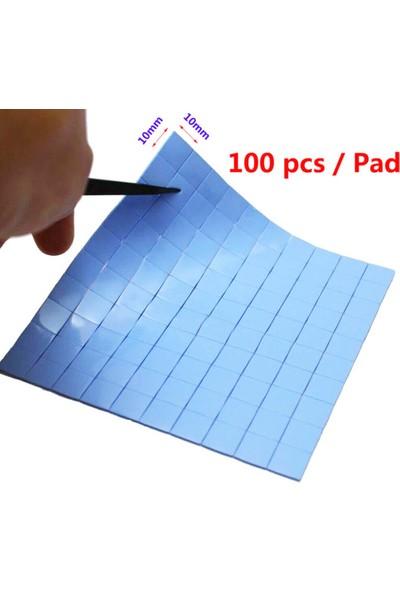 Wozlo 2.0MM*100*100MM Chipset Soğutucu Termal Pad Ped 10*10MM Kesilmiş