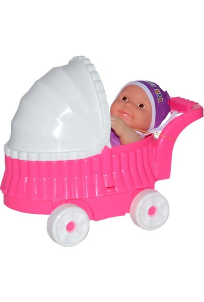 Efe Oyuncak Pusetli Et Bebek Pembe