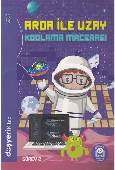 Düşyeri Yayınları - Arda ile Uzay - Kodlama Macerası 2