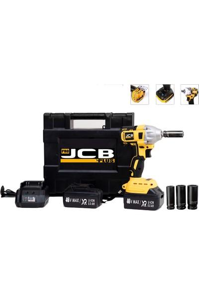Pro Jcb Plus Jsmn 5000 Bl Motor Kömürsüz Akülü Darbeli Somun Sıkma Çift Akülü Çantalı