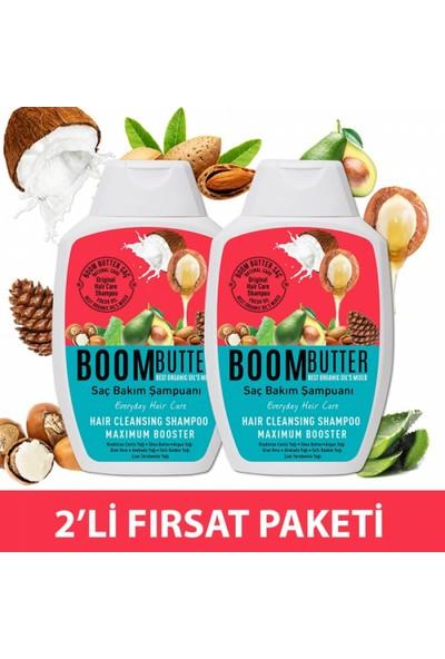 Boom Butter Saç Bakım Şampuanı Ikili Paket