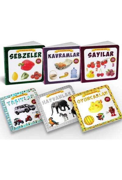 Tiny Kids Türkçe - Ingilizce Ilk Bilgilerim Dizisi 6 Kitap - Set 2