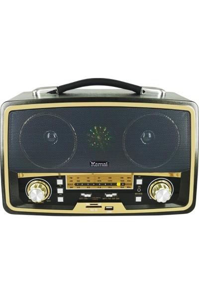 Kemai MD-1701 Bt Nostalji Radyo Bluetooth+Fm Radyo+Usb+Sd Kart