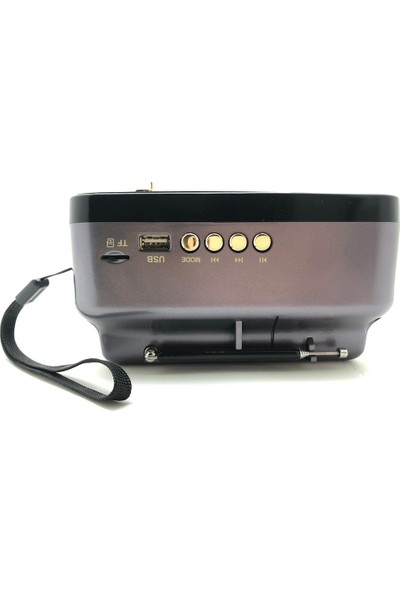Kemai MD-308 Bt Nostalji Analog Radyobluetooth Fm USB Sd Kart