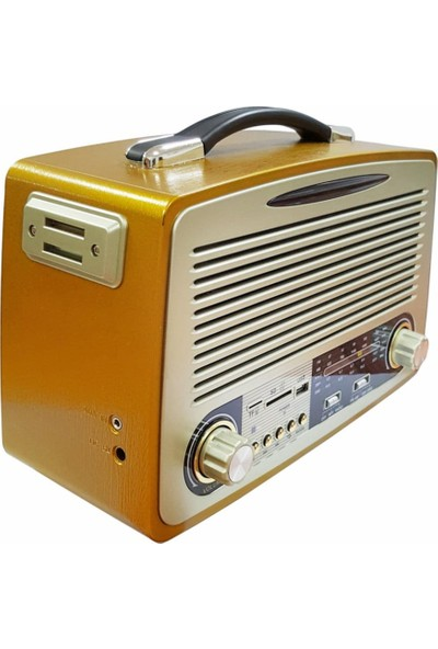 Kemai MD-1700 Bt Nostalji Radyo Bluetooth+Fm Radyo+Usb+Sd Kart