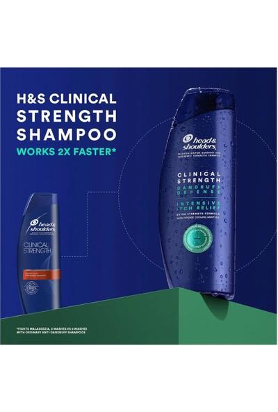 Head Shoulders Clinical Strength Mentollü Kepek Şampuanı 400 ml