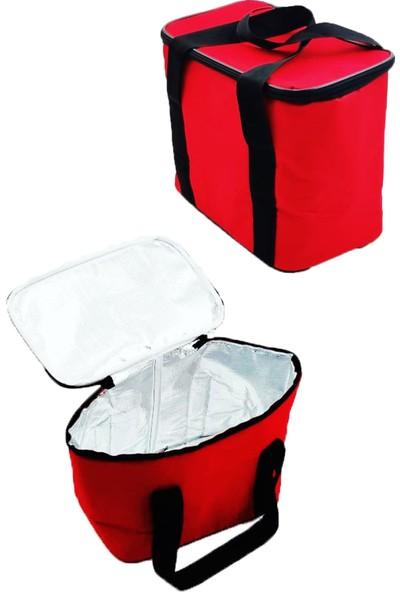 Okkored Nimitz 16 Litre Kırmızı Sıcak Soğuk Korumalı Buzluk Çanta,piknik Gıda Saklama Taşıma Çantası