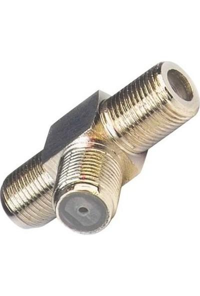 Cablemaster T Tipi Uydu F Ara Konnektör F Ara T Ayırıcı(1 Adet)