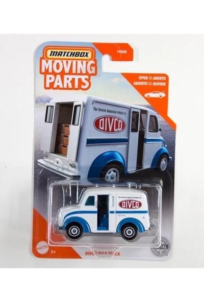 Matchbox 1:64 Araba Serisi Dıvco Mılk Truck FWD28 - GKP17