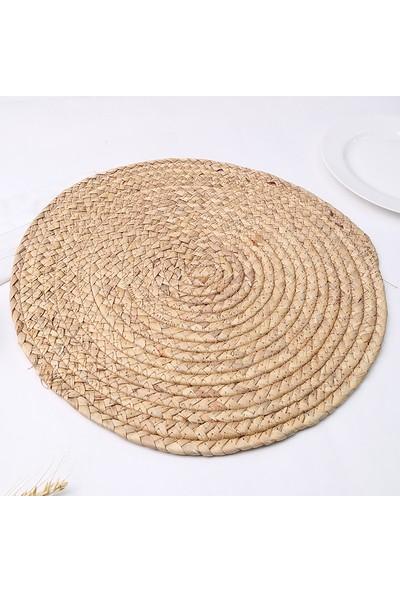 Karaca Ravlen Hasır 2li Natürel Supla
