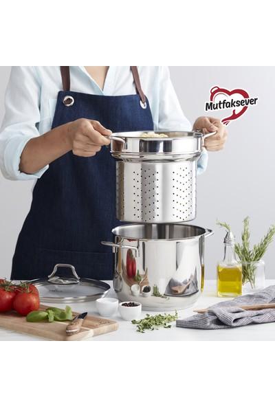 Karaca Mutfaksever Çelik Spagetti Tenceresi