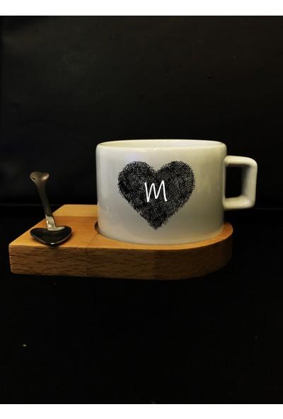 Alsa M Harfli Kalpli Nescafe - Espresso Fincanı