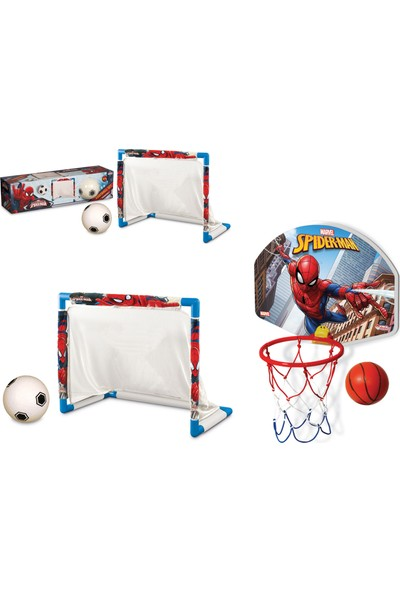 Beybisi Spiderman Futbol Set + Spiderman Orta Pota