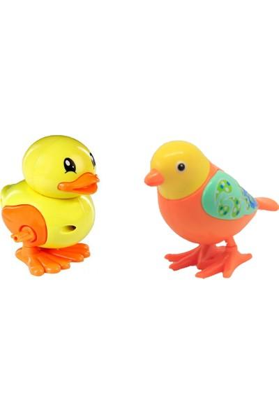 Beybisi Kurmalı Emekleme Arkadaşı Ördek + Kuş