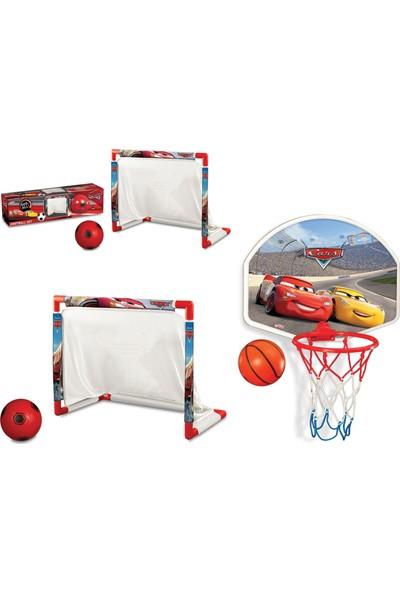 Beybisi Cars Futbol Set + Cars Orta Pota