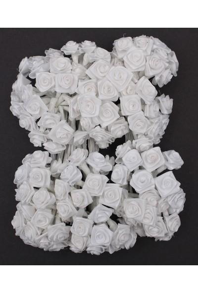 Lora Wedding 144 Adet Beyaz Renkli Küçük Kumaş Çiçek