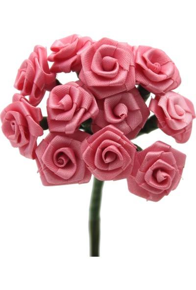 Lora Wedding 144 Adet Gül Kurusu Renkli Küçük Kumaş Çiçek