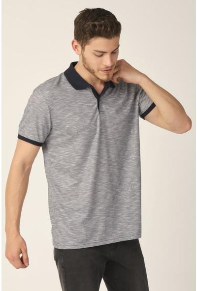 Alexandergardı Jakarlı Polo Yaka T-Shirt (E21-8101)