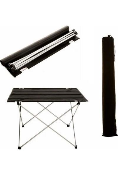 ION Katlanabilir Piknik Bahçe Kamp Masası 73X55X50 cm