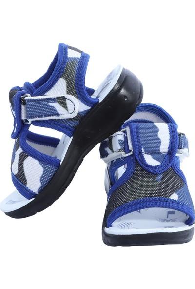 Daye Kamuflaj Desenli Günlük Bebek Sandalet