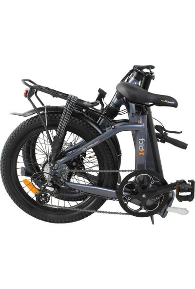 Alba 2021 Alba Fold x KD218-105-2 Katlanır Elektrikli Bisiklet