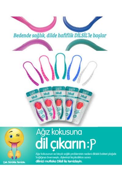 Ortho Diş Fırçası + Ara Yüz Fırçası + Ara Yüz Fırçası Yedek 6'lı Eğimli + Dilsil Dil Temizleyici Seti