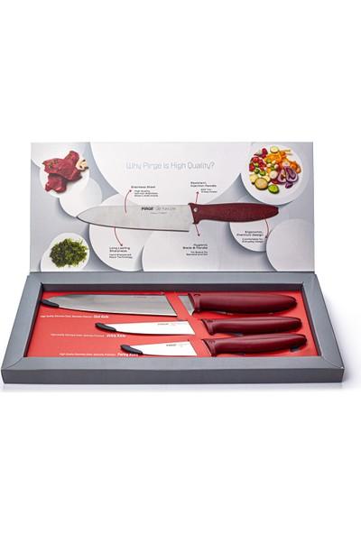 Pirge Pure Line Bıçak Seti 3'lü - 48010