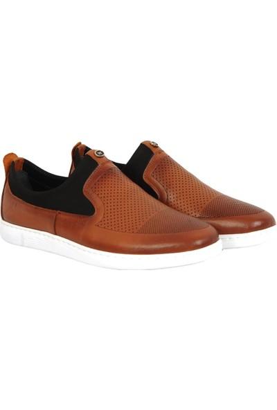 Balayk 1015 Bağsız %100 Deri Günlük Erkek Sneakers Ayakkabı