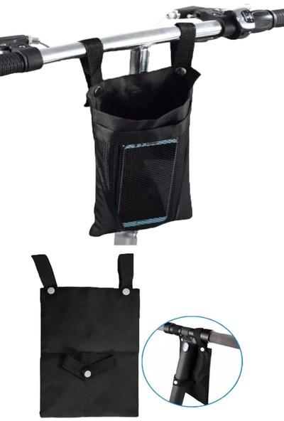 Carneil 3 Litre-2 Gözlü Roof Bisiklet-Gidon Seyahat Eşya Telefon Içecek Taşıma Askı Çantası