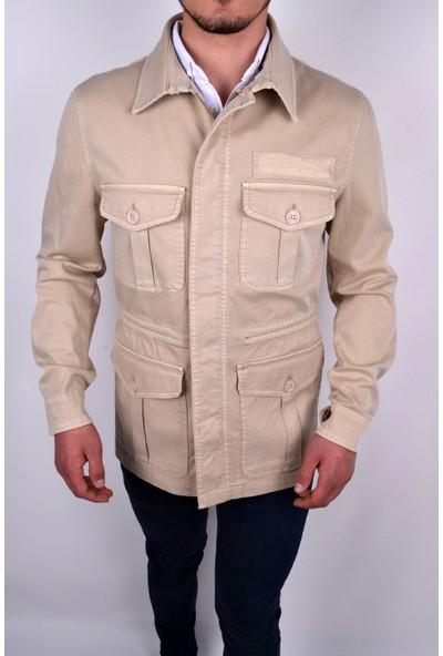Score Safari Model Astarsız Gabardin Kumaş Baharlık Ceket