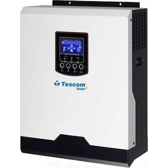 Tescom 12V 1 Kva 1000 W Tam Sinüs Akıllı Inverter