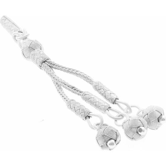Tesbihane 1000 Ayar Gümüş Kazaz Püskül (Model-11)