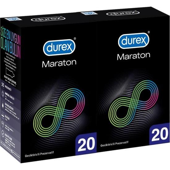 Durex Maraton 40'lı Geciktiricili Prezervatif