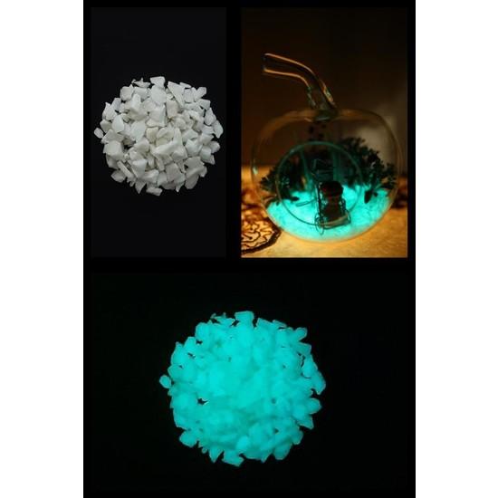 Arge-Kimya Glow In The Dark Stones (12-20MM/1000GR) MAVI_01 / Karanlıkta Parlayan Taşlar MAVI_01
