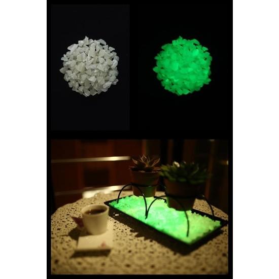 Arge-Kimya Glow In The Dark Stones (12-20MM/1000GR) YEŞIL_01 / Karanlıkta Parlayan Taşlar YEŞIL_01