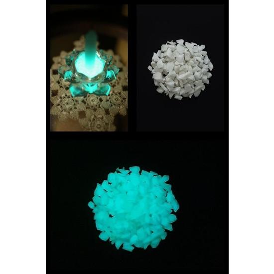 Arge-Kimya Glow In The Dark Stones BLUE_01 (12-20MM/100GR) / Karanlıkta Parlayan Taşlar MAVI_01