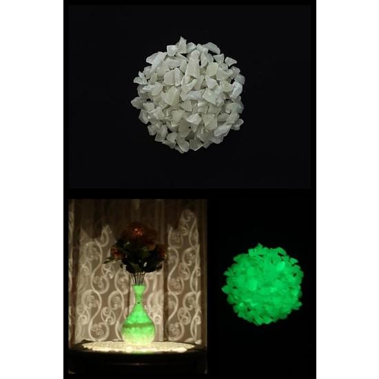 Arge-Kimya Glow In The Dark Stones GREEN_01 (12-20MM/100GR) / Karanlıkta Parlayan Taşlar YEŞIL_01