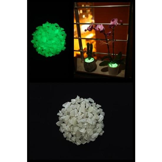 Arge-Kimya Glow In The Dark Stones GREEN_03 (1-4MM/100GR) / Karanlıkta Parlayan Taşlar YEŞIL_03