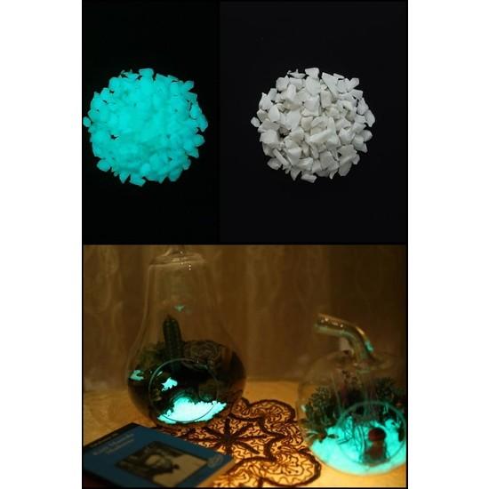 Arge-Kimya Glow In The Dark Stones BLUE_02 (4-12MM/100GR) / Karanlıkta Parlayan Taşlar MAVI_02