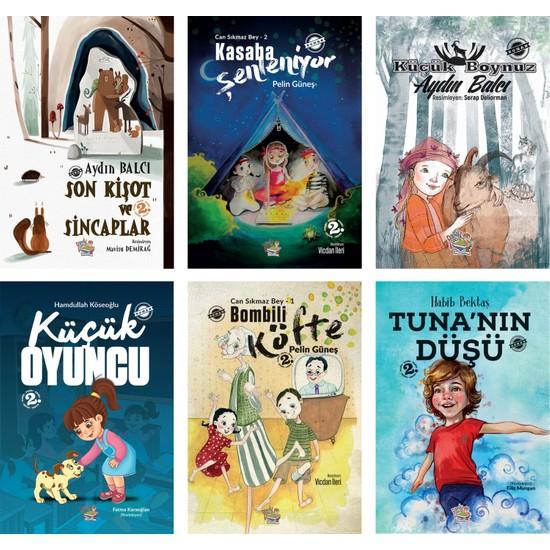 Parmak Çocuk Yayınları Roman Set 2 - 6 Kitap - Set - 8 + Yaş - Roman Ekitap İndir | PDF | ePub | Mobi