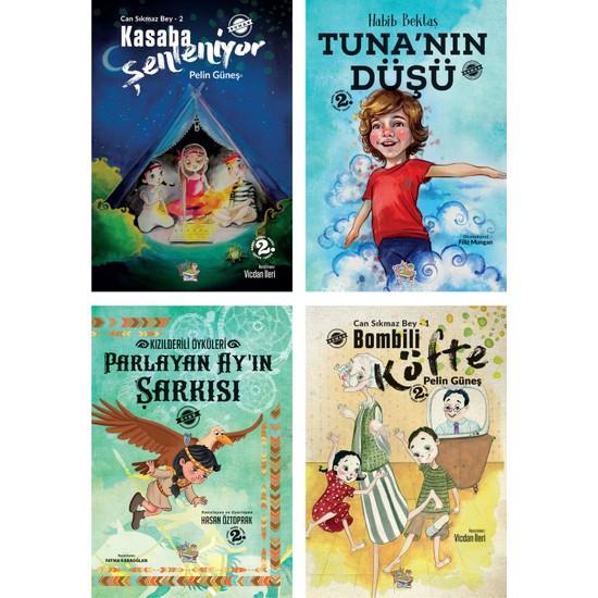 Parmak Çocuk Yayınları Bombili Köfte + Kasaba Şenleniyor + Tuna'nın Düşü + Parlayan Ay'ın Şarkısı - 4 Kitap - 8 + Yaş - Roman - Set Ekitap İndir | PDF | ePub | Mobi