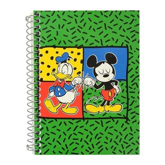 Mynote Mickey Mouse Sp.defter A6 80 Yaprak Çizgili - Desen 4