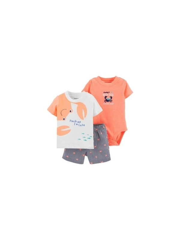 Carter's Erkek Bebek 3'lü Set - Dcs 1H350410
