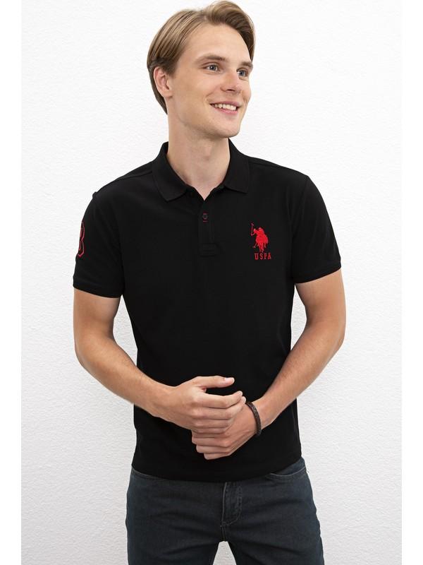 U.S. Polo Assn. Siyah T-Shirt 50238254-VR046