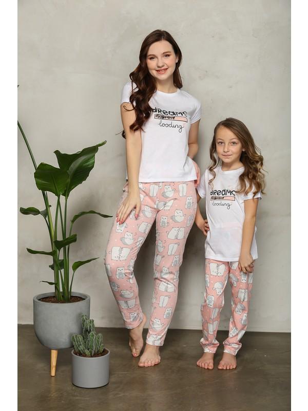 Lilian Dreams Pijama Takımı.anne Kız Kombin Yapılabilir.ayrı Ayrı Satılır