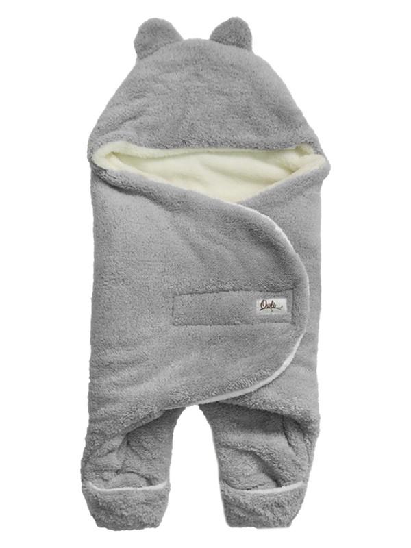 Podium Giyim Yeni Doğan Iç-Dış %100 Welsoft Patikli Kundak Tulum