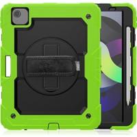 MobaxAksesuar Apple iPad Pro 11 2. Nesil Kılıf Defender Zırhlı Tank Case A2228 A2068 A2230 A2231 Yeşil